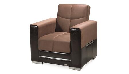 Monaco Collection MONACO ARM CHAIR BROWN/ BROWN 37