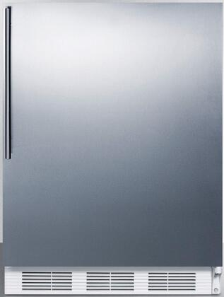 FF6SSHVADA 24 inch  FF6ADA Series ADA compliant Freestanding Compact Refrigerator with 5.5 cu. ft. Capacity  Interior Lighting  Door Storage and Automatic Defrost: