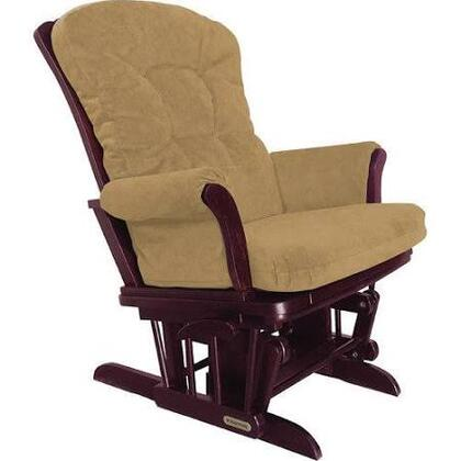 37427kd.47.0152 Shermag Sleigh Style Reclining Glider  with Locking