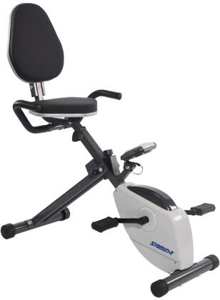 Magnetic Collection 15-0190 Folding Recumbent Exercise Bike with 8 Levels Magnetic Resistance  Foam Padded Handles  Tension Control Knob  Adjustable Padded