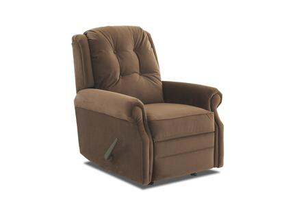 Sand Key Collection 57603H-RRC-TD 32 inch  Rocking Reclining Chair with Easy Pull Handle  Petite Rolled Arms  Button Tufted Back and Welted Panel Cushion in Tina