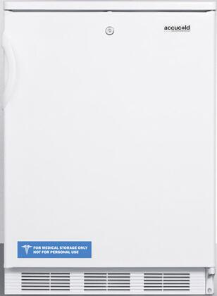 FF6LBI7 34 inch  FF6BI7 Series Medical  Commercially Listed Freestanding or Built In Compact Refrigerator with 5.5 cu. ft. Capacity  Front Door Lock  Interior Light