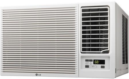LG LW2416HR 23000 BTU 230V Heat Window-Mounted Air Conditioner, White