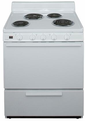 Premier 3.9 Cu. Ft. Freestanding Electric Range White-on-White EDK100OP