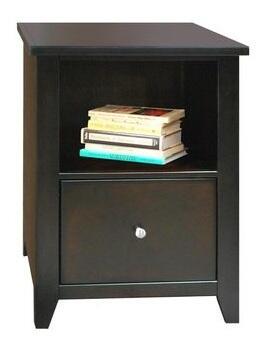 UL6805.MOC Urban Loft One Drawer File Cabinet in