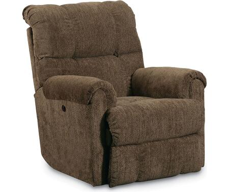 Griffin Collection 327-98P/4148-21 36 inch  Power Rocker Recliner with Fabric Upholstery  Rolled Padded Arms  Tufted Back Cushions and Traditional Style in