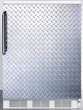 FF67DPL 24 inch  FF67 Series Energy Star  Medical  Commercial Freestanding Compact Refrigerator with 5.5 cu. ft. Capacity  Crisper  Door Storage  Interior Light and