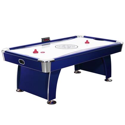 NG1038H Phantom 7.5' Premium Air Hockey Table with Electronic Scoring System and High Glass Scratch Resistance Playing