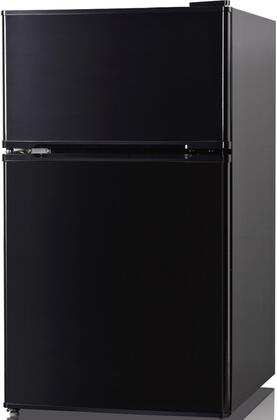 REF113F-31B 19 inch  Compact Top Freezer Refrigerator with 3.1 cu. ft. Capacity  Low Noise Operation  Adjustable and Removable Shelf  Transparent Crisper and