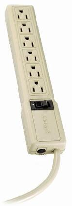 PS6 Multiple Outlet Strip 15-Amp 6 outlets 4ft