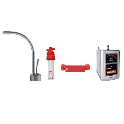 LB9180C-110-HT Faucet Set with LB9180C Hot Water Dispenser  FRCNSTR110 Filter Canister  FM100 Filter Module Meter and HT300 Little Butler Heating