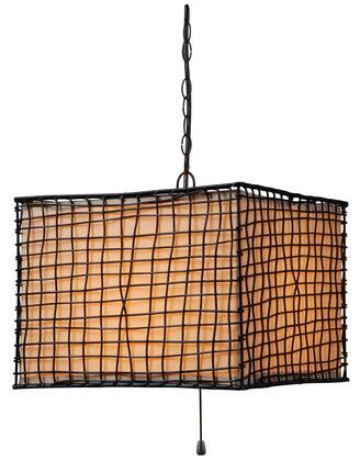 93399BRZ Trellis 1 Light Outdoor Pendant in Bronze