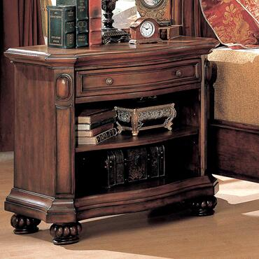 WR9103N Wrigley One Drawer Nightstand in Cherry