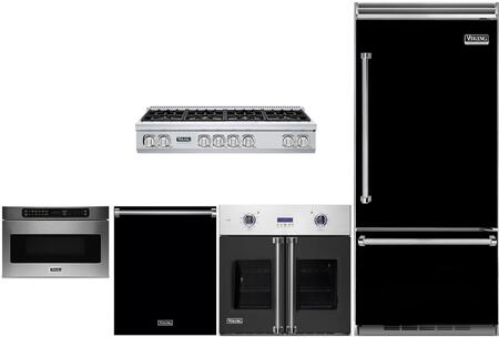 6 Piece Kitchen Appliance Package with 36