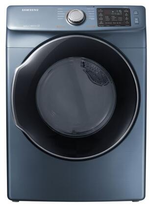 "DVE45M5500Z 27"" Front-Load Electric Dryer With 7.5 cu. ft. Capacity DOE  Energy Star Certified  Multi-Steam Technology  Vent Sensor  Sensor Dry  4 Temperature"