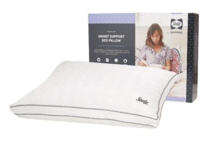 Sealy Response Collection F01-00403-CP0/PAK4 Pack of 4 Standard Size Smart Support Pillow with Air Support Foam  Breathable Design and Removable Washable Cover