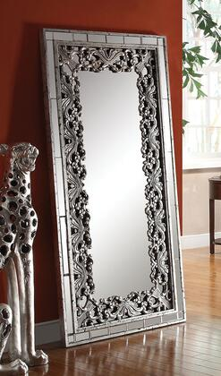 Vern Collection 97106 35 inch  x 71 inch  Accent Mirror in Silver &