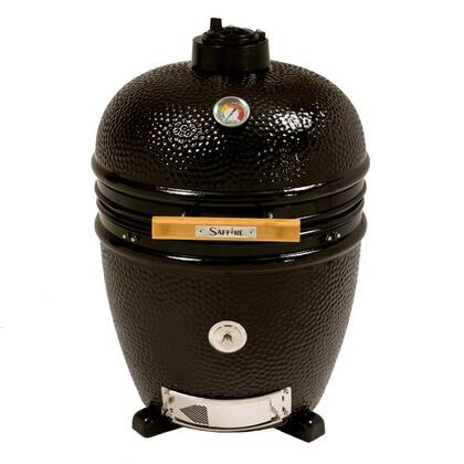 SGUB19-CGOB+SGUS19-KBIOB Package Including Lg 19 inch  Bronze Saffire Grill and Build Kit in