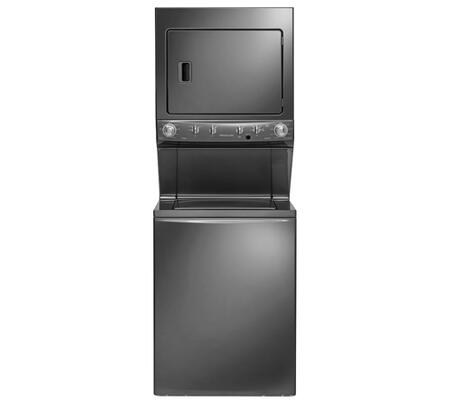 Frigidaire 3.8 Cu. Ft. 9-Cycle Washer and 5.5 Cu. Ft. 9-Cycle Dryer Electric Laundry Center Classic Slate FFLE4033QT