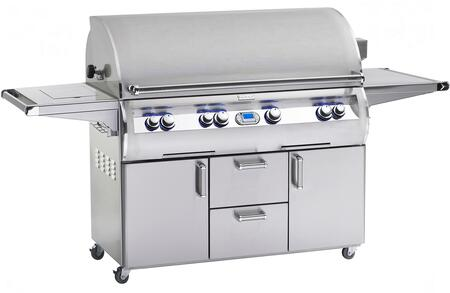 E1060S-4L1N-62 Echelon Diamond Series Stainless Steel Natural Gas Grill 1056 sq. in. Cooking Area  With Single Side Burner  and One Infrared