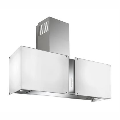 IS27MURSNOWLED 27 inch  Murano Snow Series Range Hood with 940 CFM  4-Speed Electronic Controls  Delayed Shut-Off  Filter Cleaning Reminder  Internal Whisper-Quiet