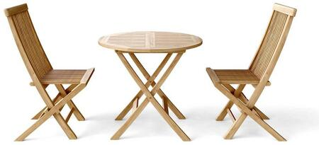 SET-108A 3-Piece Bistro Table Set with 31