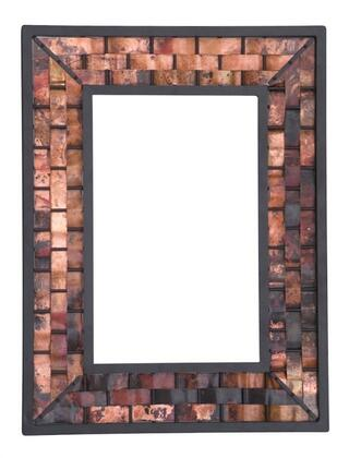 938-010-LRG-COP Rushton Iron Wall Mirror Large