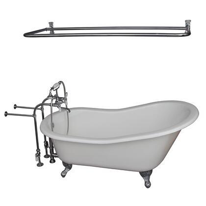 TKCTSN67-CP5 Tub Kit 67 CI Slipper  Shower Rd  Filler  Supplies