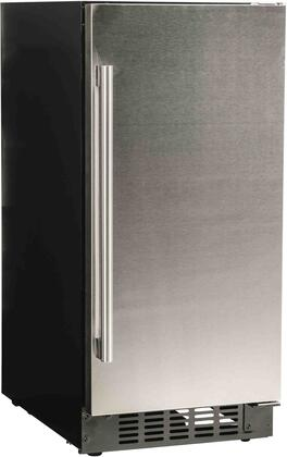A115RS All Refrigerator with 3 cu. ft. Capacity  Blue LED Lighting  4 Glass Shelves  Auto Defrost  Digital Display Control  in Stainless
