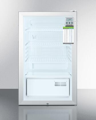 SCR450L7PLUS 20 inch  All Refrigerator with 4.1 cu. ft. Capacity  Automatic Defrost Type  Glass Door  100% CFC Free  in
