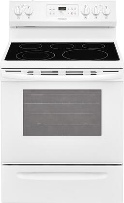 Frigidaire 5.3 Cu. Ft. Self-Cleaning Freestanding Electric Range White FFEF3054TW