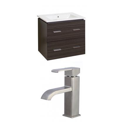 AI-8397 Plywood-Melamine Vanity Set In Dawn Grey With Single Hole CUPC