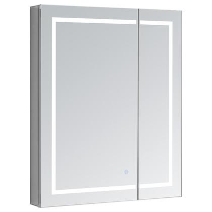 Signature Royale Plus RP3030 30 inch  x 30 inch  Mirror Cabinet with Touch Control LED Lights  Electrical Outlet  Blum Hinges and 5mm Copper Free Mirror