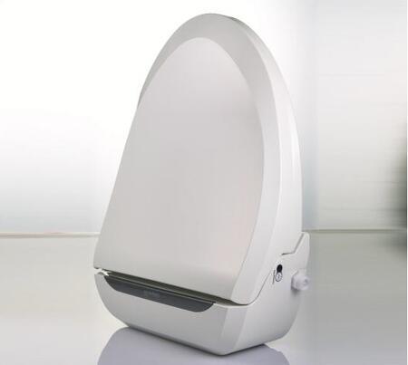 USPA 6800R Uspa Series Advanced Round Bidet Toilet Seat with  Convenient Wireless Remote  Heated Hydraulic Seat  Deodorizer and Power Save in