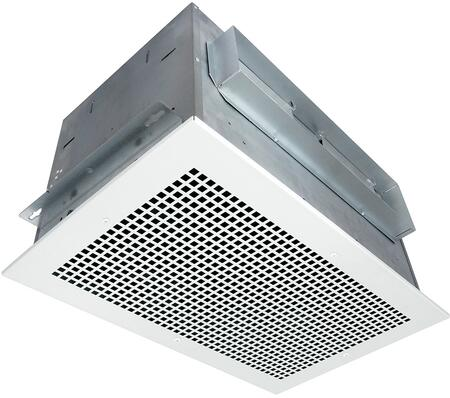 AK600 Exhaust Fan with 620 CFM  22 Gauge Galvanized Steel Housing  and Metal Grill  in