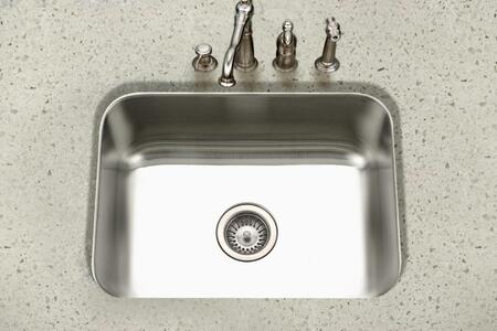 PNG-2300-1 Eston Series Undermount Stainless Steel Single Bowl Kitchen Sink  16