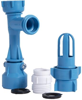 DSBMFDCON Blue Magic Fill & Drain Kit W/ 8 Oz Conditioner Kit For