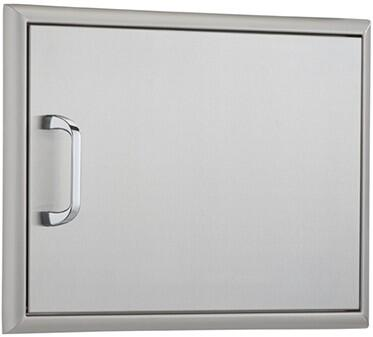 OCI-17X24ADS-H 24 inch  x 17 inch  Horizontal Single Access Door with Heavy Duty Hinges and Magnetic Latch: Stainless