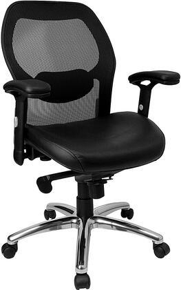 Click here for Flash Furniture LF-W42-L-GG Mid-Back Black Super M... prices