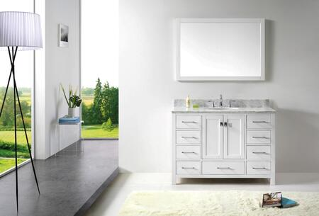 Click here for GS-50048-CAB-WH Transitional 48 Bathroom Vanity Ca... prices