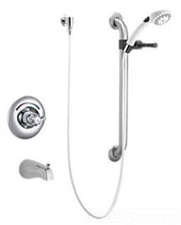 T13H253 11t Series Monitor 13 Series Tub Only Trim with Hand Shower and Grab