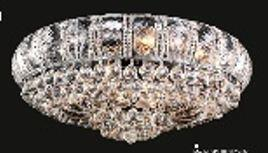 Corona Collection SP81079F-34C 34 inch  Wide Chandelier in Chrome