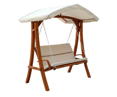 WSWC102 Wooden Swing Seater with