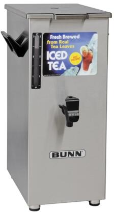 032500042 TD4T Dispenser Square Style Iced Tea And Coffee Dispenser With Solid Lid  4Gal