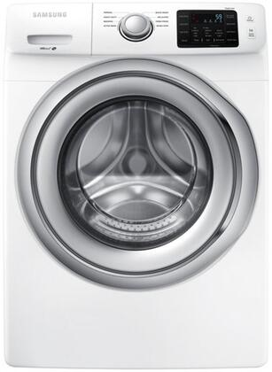 "WF45N5300AW 27"""" Front Load Washer with 4.5 cu. ft.  SmartCare  Diamond Drum Interior  VRT Plus  Technology  and Self Clean  in"" 903544"