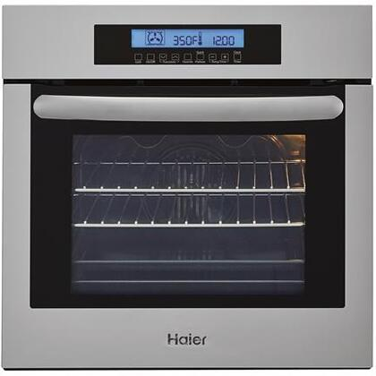Haier HCW2360AES 24 Self-Cleaning Electric Single Wall Oven