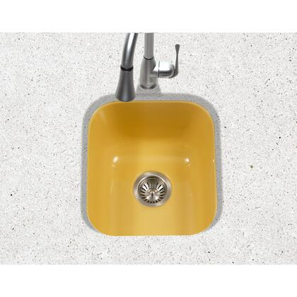 PCB-1750 LE Porcela Series Porcelain Enamel Steel Undermount Bar/Prep Sink