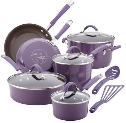 16783 12-Piece Cookware Set  Lavender
