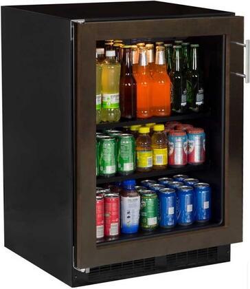 Marvel ML24BCF2LP Beverage Center with Convertible Shelves, Panel Ready Overlay Frame Glass Door, Left Side Hinge, 24, Stainless Steel