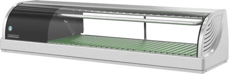 HNC-120BA-L-SL 47 inch  HNC Series Countertop Refrigerated Display Case with 1.48 cu. ft. Capacity  LED Lights  NSF Approved Thermometer  Air Condenser  R134a